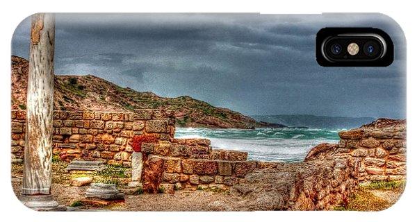 Ancient Ruins In Kefalos Kos Greece IPhone Case