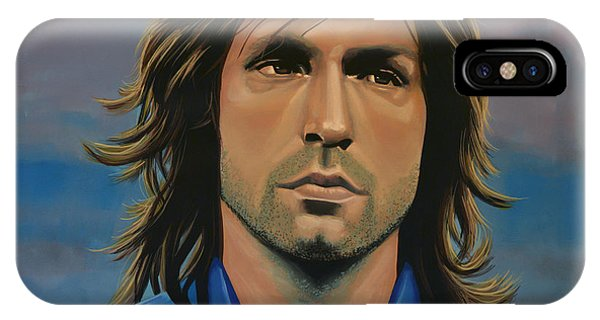 Or iPhone Case -  Andrea Pirlo by Paul Meijering