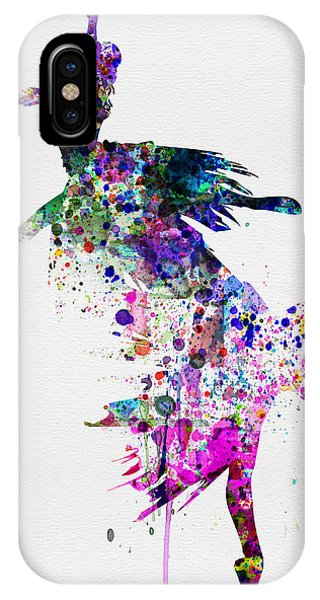Ballerina iPhone Case -  Ballet Watercolor 3 by Naxart Studio