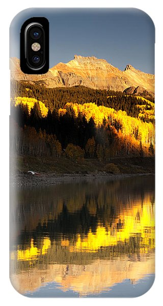 Canoe Camp On Trout Lake IPhone Case