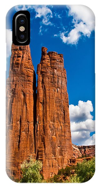 Canyon De Chelly Spider Rock IPhone Case