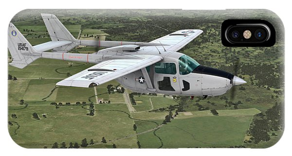 Cessna O-2a Skymaster IPhone Case