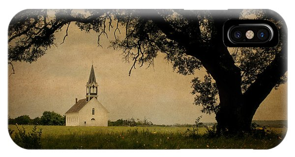 Lutheran iPhone Case -  Church On The Plain by David and Carol Kelly