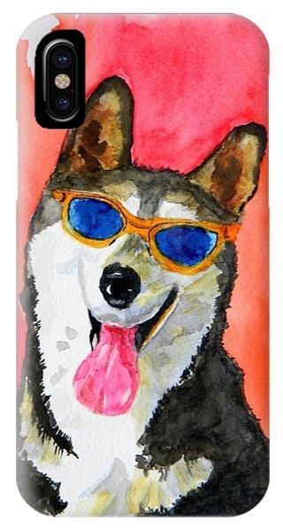 Cool Husky IPhone Case