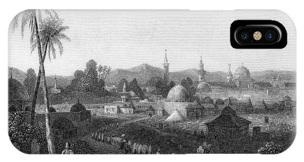 Damascus  General View        Date 1835 Phone Case by Mary Evans Picture Library