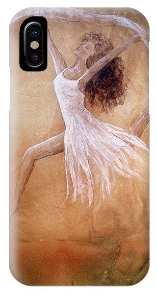 Dancer Leap In Double Attitude IPhone Case