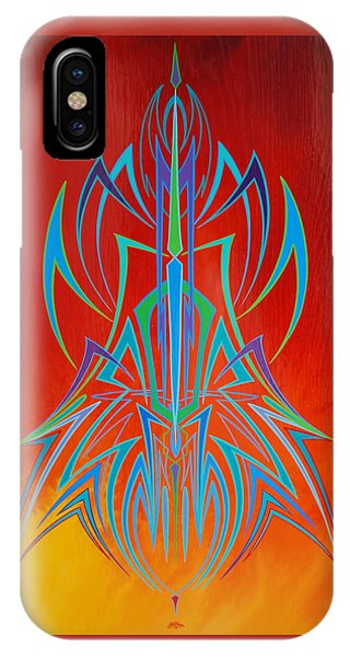Desert Fire Storm IPhone Case