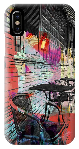 Dining In Sunshine  IPhone Case