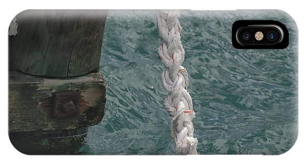 Dock Rope And Wood IPhone Case