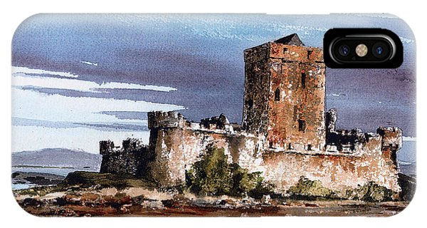 Doe Castle In Donegal IPhone Case