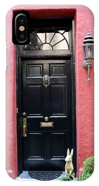 Door Oldtown Charleston IPhone Case