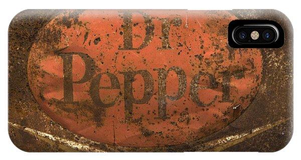 Dr Pepper Vintage Sign IPhone Case
