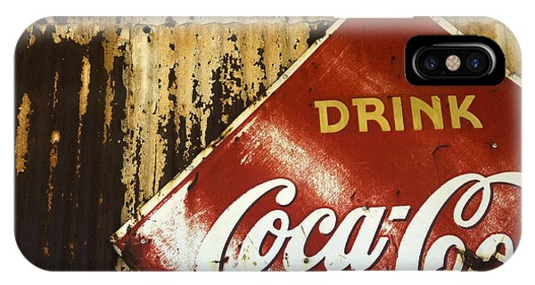 Drink Coca Cola  Memorbelia IPhone Case