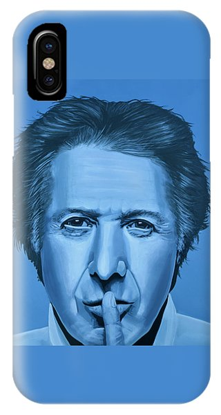 Dustin Hoffman Painting IPhone Case