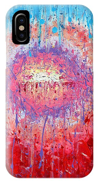 Rich Texture Abstract Painting IPhone Case
