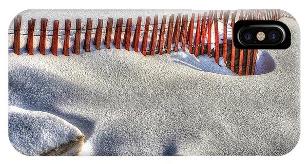 Fence Sculpture IPhone Case