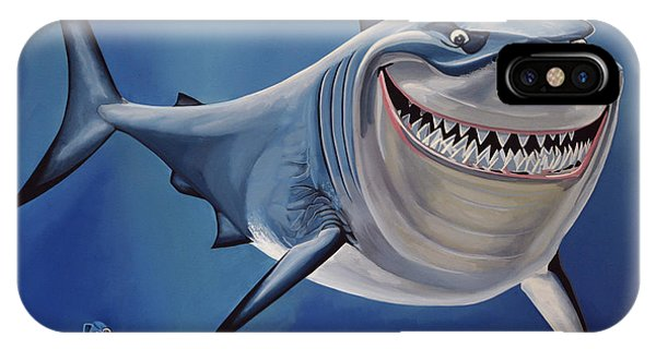 Realism iPhone Case - Finding Nemo Painting by Paul Meijering