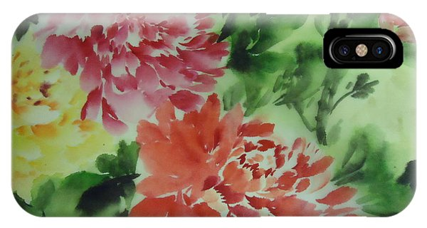 Flower 0727-1 IPhone Case