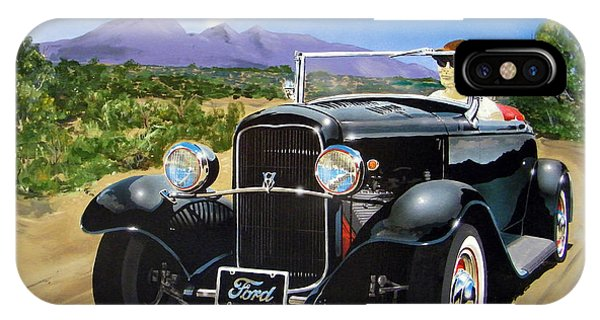 Ford Roadster Highboy IPhone Case