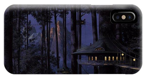 Forest Phone Case by Raphael  Sanzio