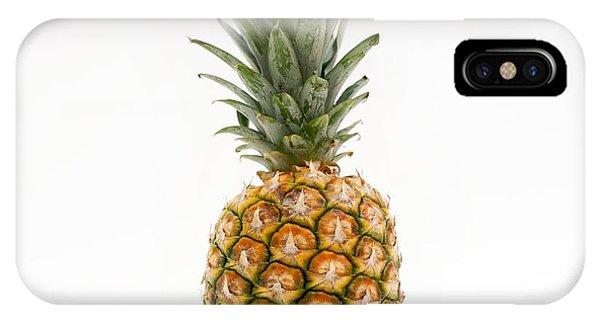 Pineapple iPhone Case -  Fresh Pineapple by Bernard Jaubert