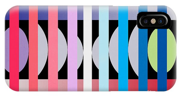 Contemporary Abstract iPhone Case -  Fun Geometric  by Mark Ashkenazi