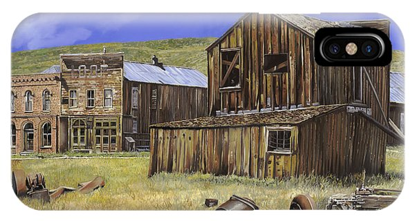 Ghost Town Of Bodie-california IPhone Case