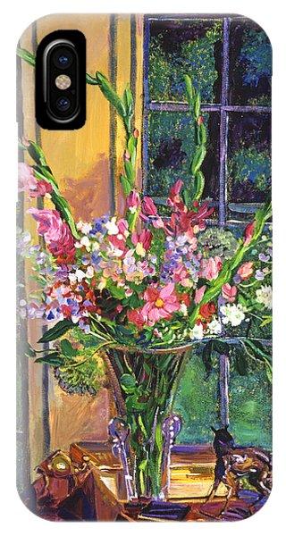 Gladiola Arrangement IPhone Case