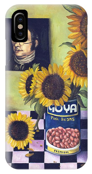 Cyclops iPhone Case -  Goyas by Leah Saulnier The Painting Maniac