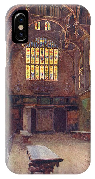 Hampton Court The Great Hall Phone Case by Mary Evans Picture Library