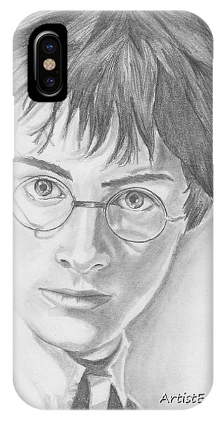 Harry Potter Phone Case by Nathaniel Bostrom