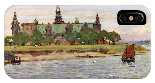 Helsingor  Kronborg Castle        Date Phone Case by Mary Evans Picture Library