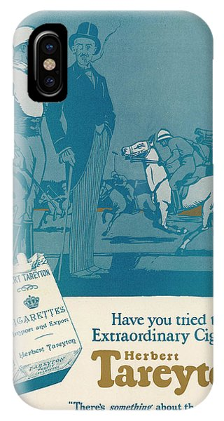 Herbert Tareyton Cigarettes - There's Phone Case by Mary Evans Picture Library