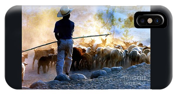 Herder Going Home In Mexico IPhone Case