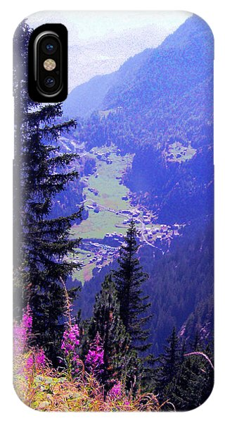 High Mountain Pastures IPhone Case