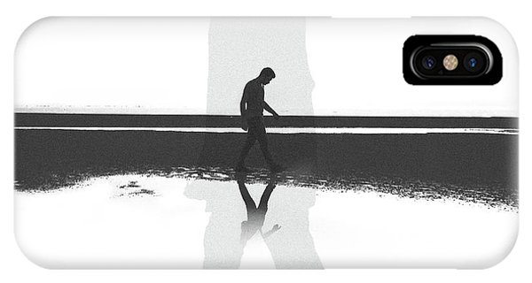 Shadows iPhone Case - ... by Hossein Zare
