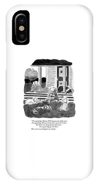 'i'm A Good Dog IPhone Case