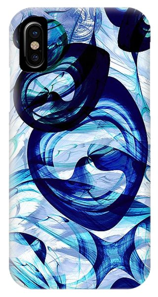 Fractals iPhone Case -  Immiscible by Anastasiya Malakhova