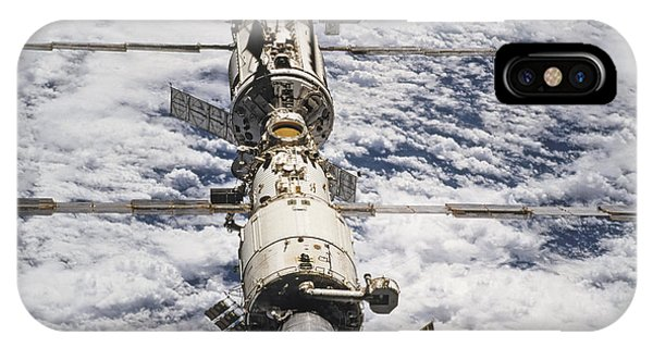 International Space Station iPhone Case -  International Space Station by Anonymous