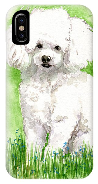 IPhone Case featuring the painting  Jorji by Linda L Martin