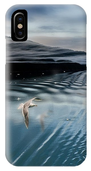Journey With A Sea Gull IPhone Case