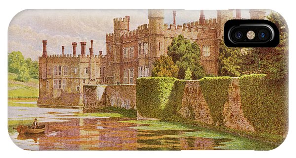 Leeds Castle, Kent         Date 1907 Phone Case by Mary Evans Picture Library