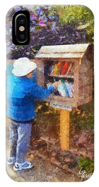 Alameda  Little Free Library IPhone Case