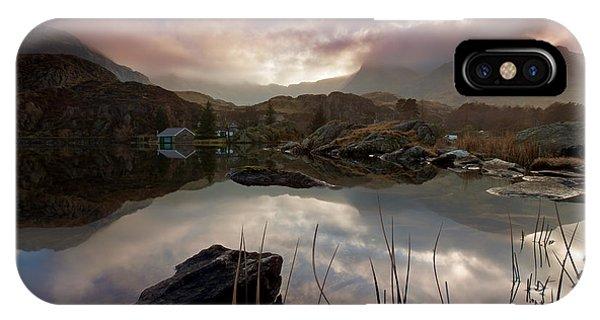 Llyn Ogwen Sunset IPhone Case