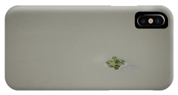 Lonely Frog IPhone Case