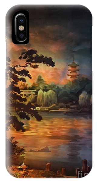 Magic Of Japanese Gardens. IPhone Case