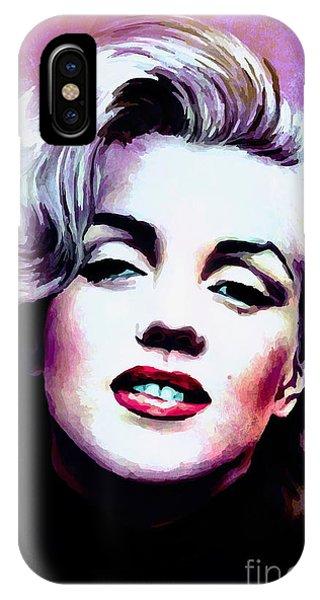 Marilyn Monroe 3 IPhone Case