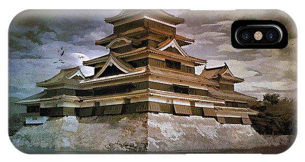 Matsumoto Castle  IPhone Case