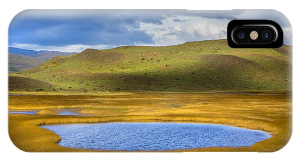 Patagonian Lakes IPhone Case