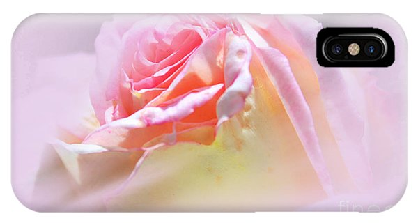 Peaceful Pink Rose Haze IPhone Case